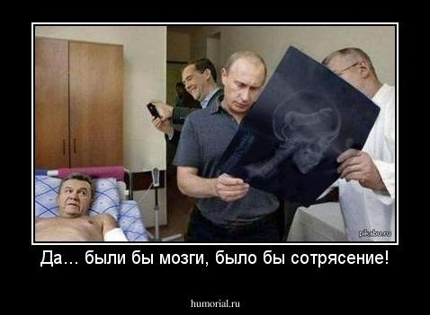 Водичка залетіла, і мало не вбився об лавочку, - Янукович розповів про травму - Цензор.НЕТ 3495