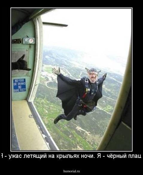 Я ужас летящий на крыльях ночи я