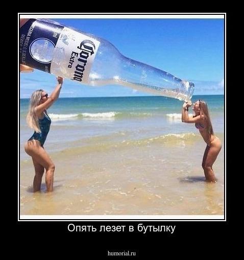 картинка лезть в бутылку делать