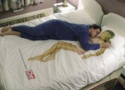 Секс в кровать